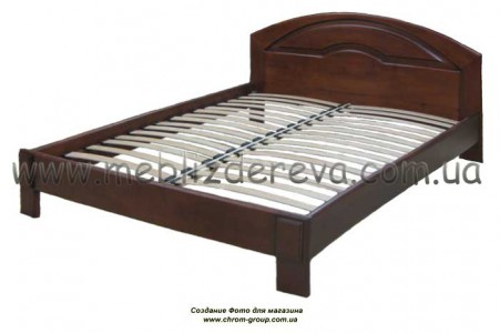 Кровати деревянные двуспальные КАРМЕН-1