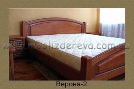 Кровать из натурального дерева Верона-2 двуспальная