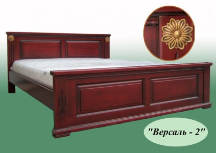 Кровати деревянные двуспальные Версаль-2