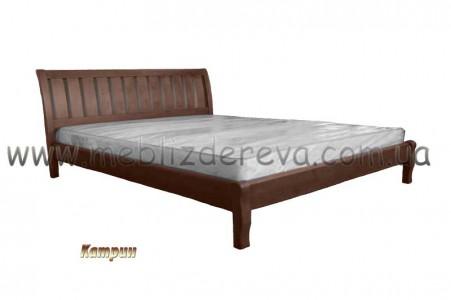 Кровати из натурального дерева двуспальные КАТРИН