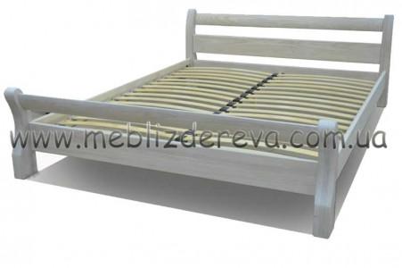 Кровати из массива дерева двуспальные Лагуна