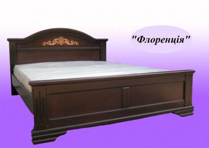 Кровать из натурального дерева двуспальная Флоренция