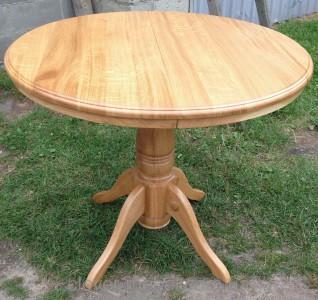 Столы круглые деревянные из массива дуба
